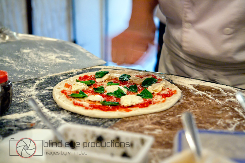 A margherita gets a dash of salt